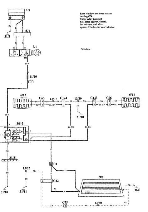 volvo 940 wiring diagram 1995 wiring diagram with