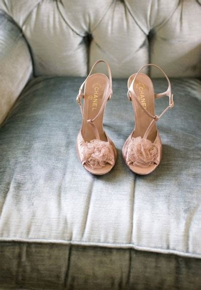 ioffer want ad pink rosette chanel shoes