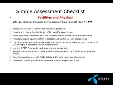 security guard risk assessment template physical security assessment