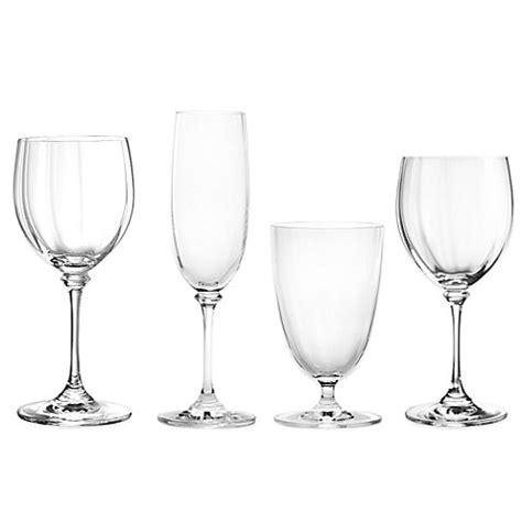 mikasa crystal barware mikasa 174 stephanie crystal stemware and barware bed bath