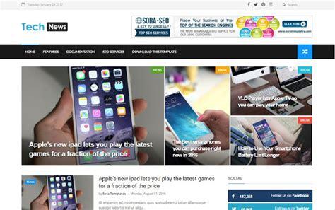 templates blogger technology tech news btemplates