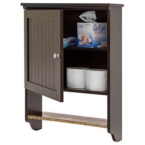 brown bathroom wall cabinet best choice products bathroom wall cabinet storage brown