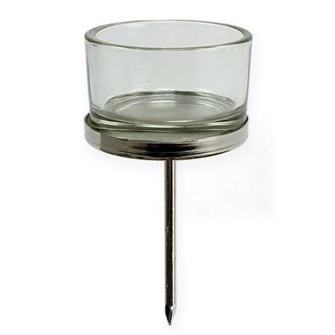 adventskerzenhalter glas kerzenhalter mit glas silber 4st kaufen in schweiz