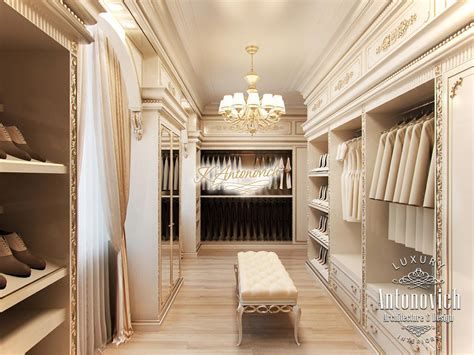 luxury dressing room interior uae