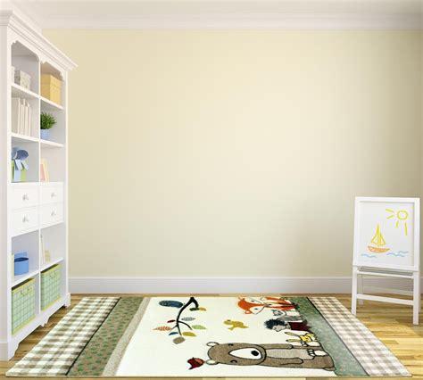 tapis enfant chambre tapis jaune chambre bebe