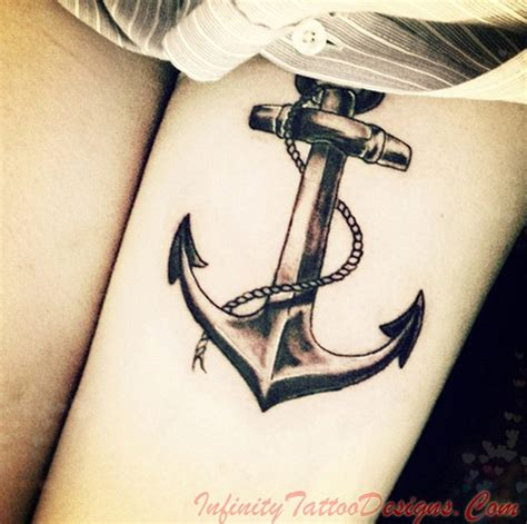 girl anchor tattoos anchor tattoos meaning fading trend or up and coming