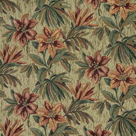 Upholstery Fabric Tropical by C66864 Cypress Tropical Chenille Upholstery Fabric