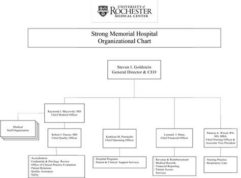 printable job applications rochester ny organizational chart nursing at strong memorial hospital