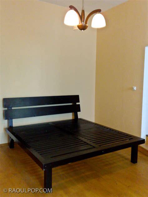 easy king size bed frame plans wooden  homemade gun