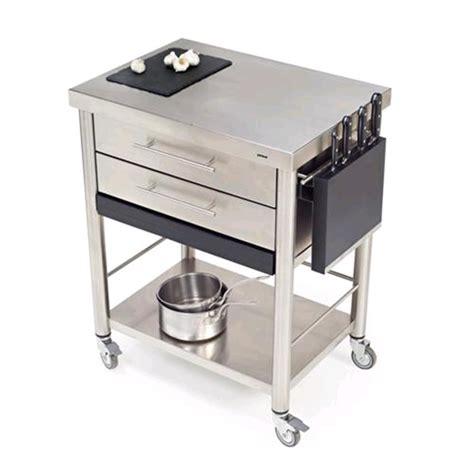 carrello cucina con cassetti carrello da cucina mod 687702 auxilium in acciaio
