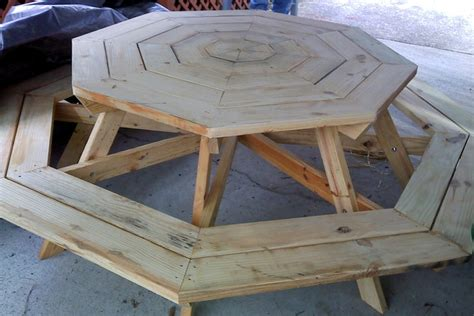 octagon picnic table for the home pinterest
