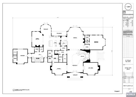 stone mansion alpine nj floor plan residential for sale in alpine new jersey 1610867