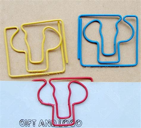 How To Make A Shaped Paper Clip - 200pcs lot kidney shaped paper special bookmarks