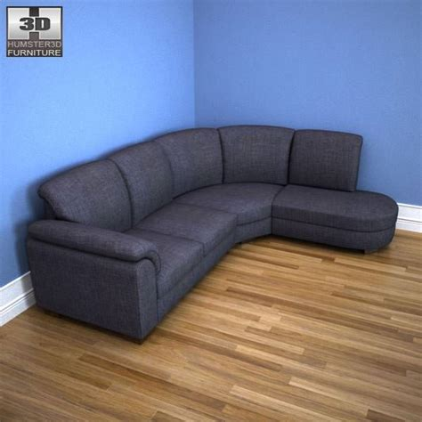 tidafors ikea sofa ikea tidafors corner sofa 3d model game ready max obj