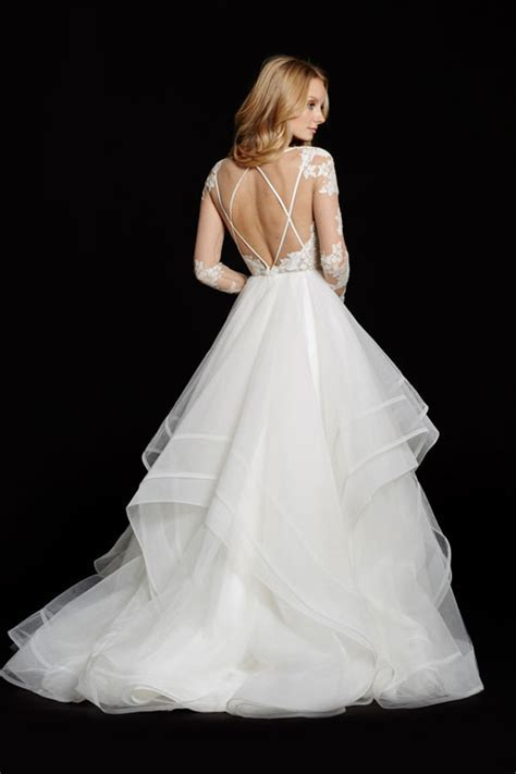 Hayley Paige Elysia / HP6556 Size 8 Wedding Dress