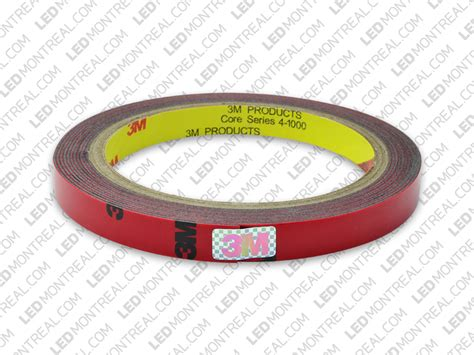 Double Sided 3m Acrylic Tape For Led Strips Led Montreal 3m Led Light Strips