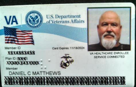 va cards daniel matthews retired us marine scout sniper