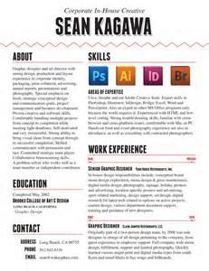 resum 233 portfolio of sean kagawa job resume cv resume templates exles