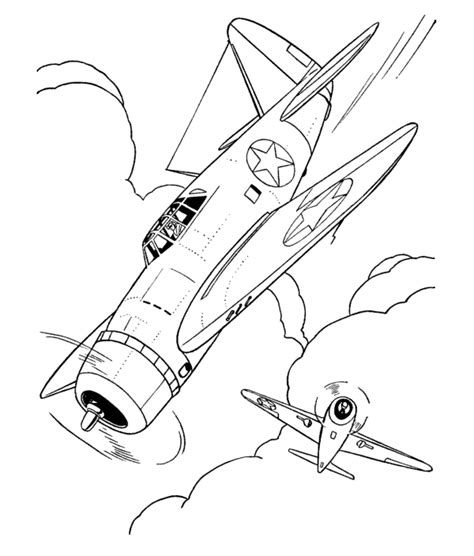 imgs for gt ww2 plane drawing