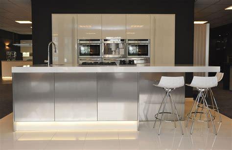 design keuken textiel showroomkeuken