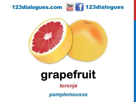 imagenes ingles y español curso de ingl 233 s 33 frutas en ingl 233 s vocabulario