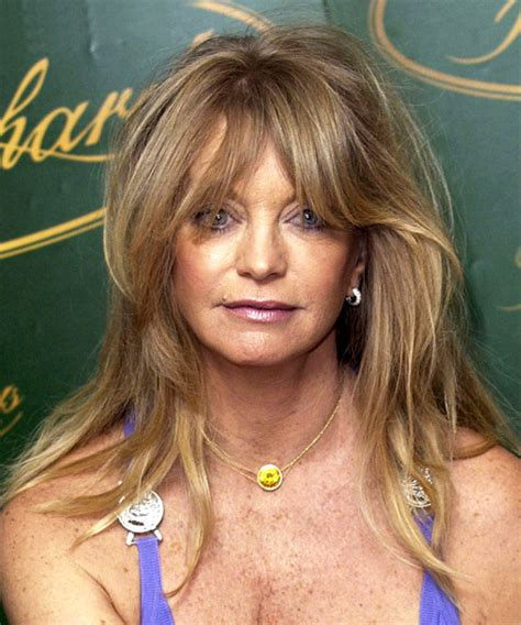 Goldie Hawn Hairstyles by Goldie Hawn Casual Hairstyle