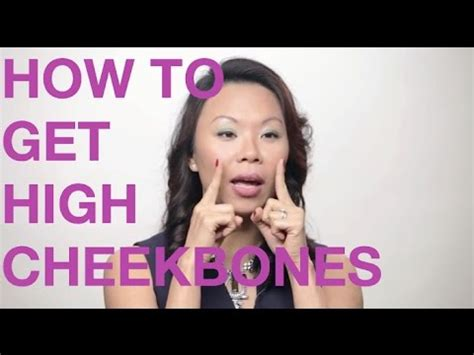 how to get a high how to get high cheek bones the way