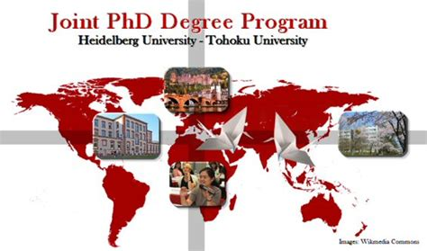 Joint Mba Phd Programs by Joint Phd Programme Tohoku Heidelberg