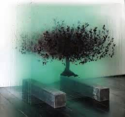 3layersoflight april pardoe interiors artist creates tree sculptures with layered glass lost