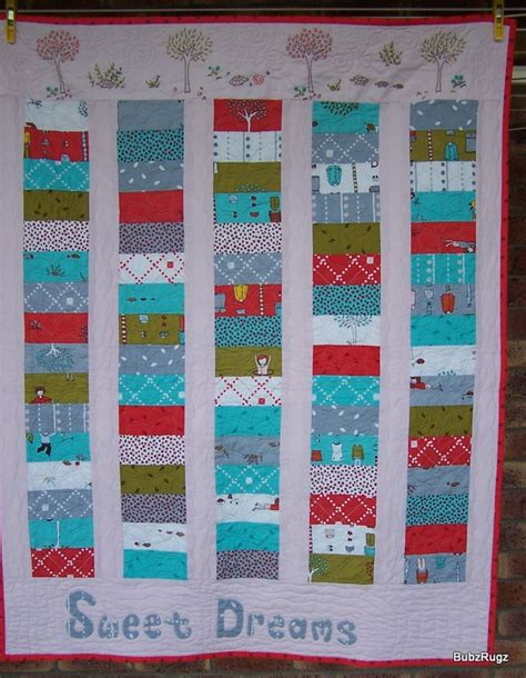 Charm Pack Quilt Tutorials by Bubzrugz Charm Pack Baby Quilt Tutorial