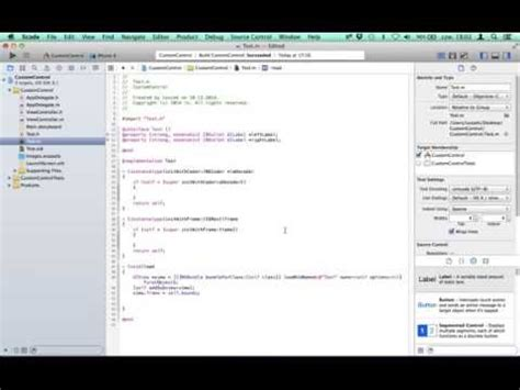 nscollectionview tutorial xcode 6 custom control loaded from xib with ibdesignable and