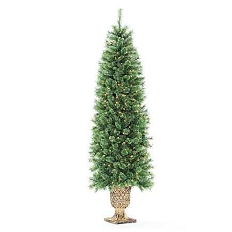 artificial christmas tree urn