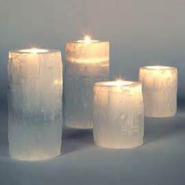 Mercury Glass Candle Holders Z Gallerie by Slanted Brass Candleholders By Dwellstudio