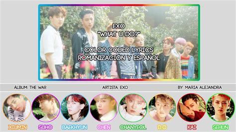 exo what u do exo quot what u do quot color coded rom subespa 209 ol lyrics