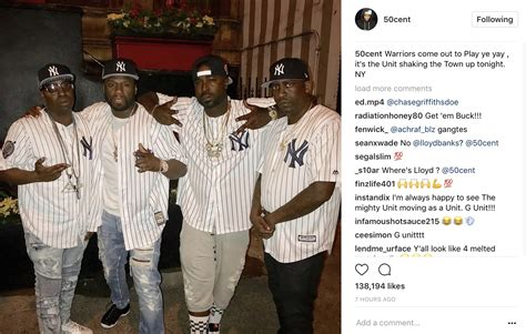 50 cent younger 50 cent young buck finally reunite quot the unit shaking