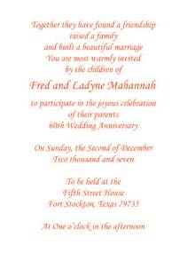 60th wedding anniversary invitation style 1f