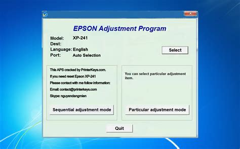 resetter epson xp 220 epson adjustment program c110 reset epson dx7450 download