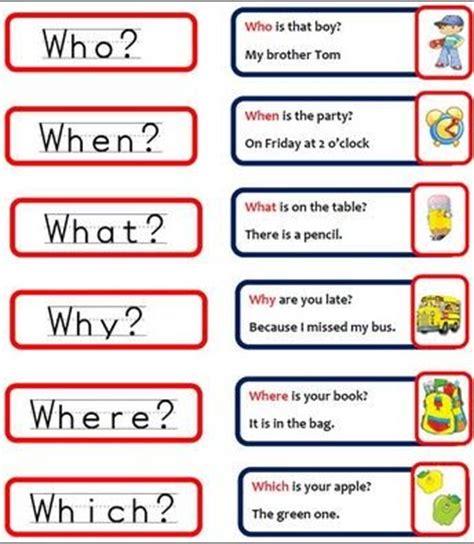 preguntas en ingles how often wh question words english