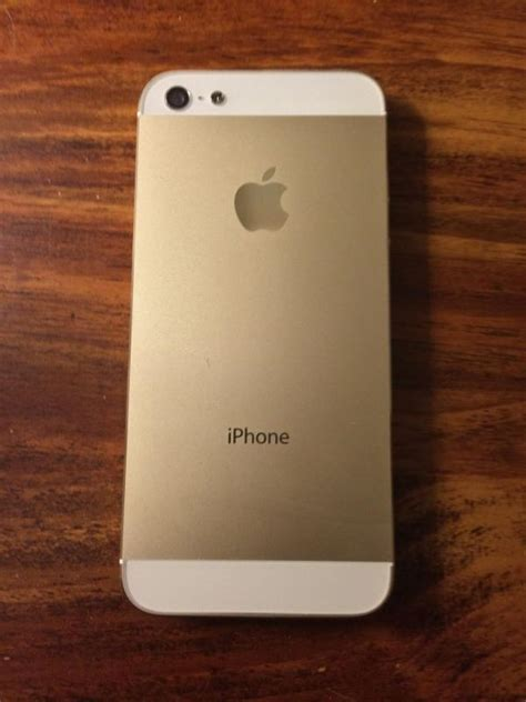 Iphone 5s 16gb Garansi Platinum Gold sold apple iphone 5 16gb at t white chagne