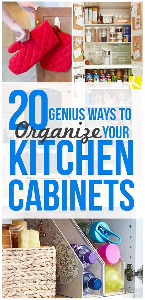 clever ways to organize your kitchen cabinets escon arena 868 best oh so organized images on pinterest