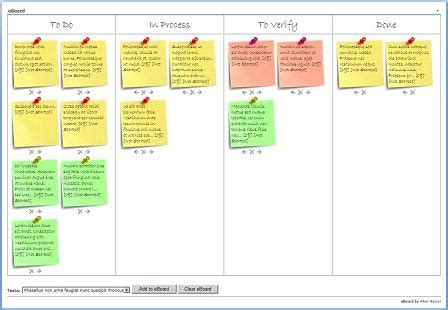 image gallery scrum template