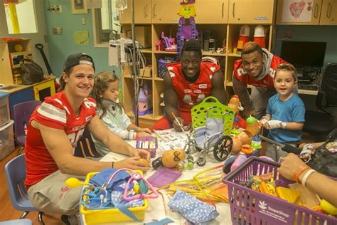 stony brook hospital emergency room stony brook children s hospital gets a special visit with a few tricks and treats from seawolves