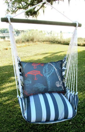 Marina Fishing Rods Hammock Chair Swing Gardenfun Com