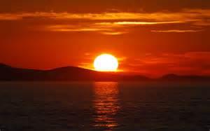 soleil pourquoi le soleil devient il orang 233