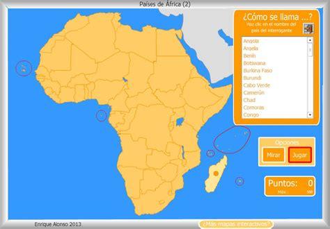 mapa de africa interactivo donde esta africa en el mapa