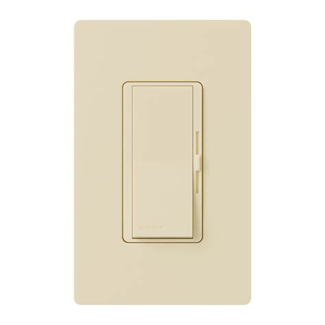 lutron dimmer light switches ivory lutron led cfl slide dimmer switch