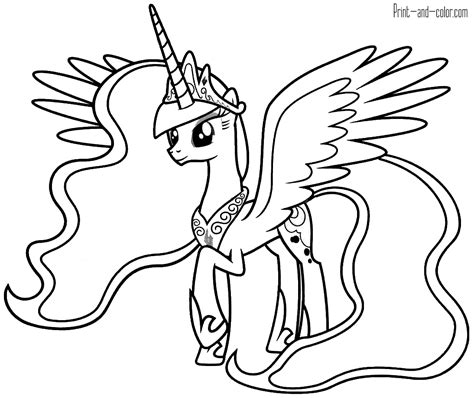 coloring book pages to print and color my pony coloring pages print and color