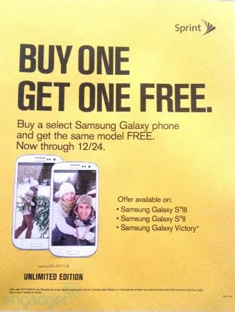 Buy A Samsung Galaxy S10 Get One Free by Sprint To Offer Buy One Get One Free Deal On Three Samsung Galaxy Devices This Season