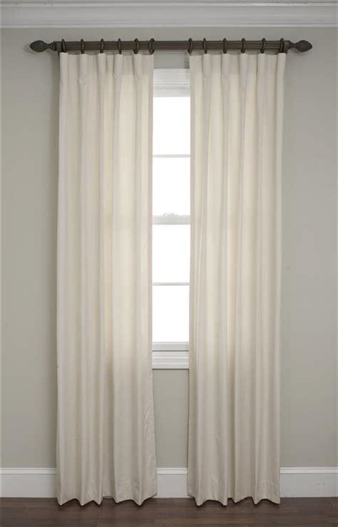 cartridge pleat drapery calico cartridge pleated drapes
