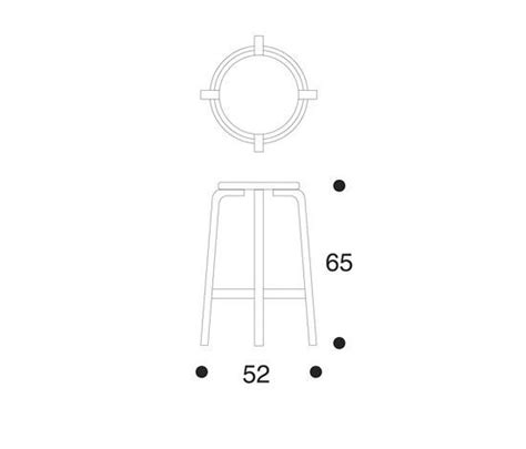 Artek High Stool 64 by High Chair 64 Bar Stools From Artek Architonic